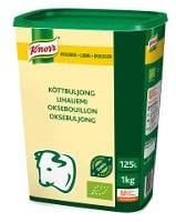 Knorr Økologisk Oksebuljong Lavsalt 125L -