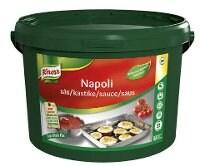 KNORR Napoli Tomatsaus 1 x 3,8 kg / 22 L -