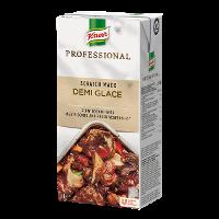 Knorr Professional Demi Glace 1L - Tilberedt fra bunnen av med brunede kjøttbein, urter og grønnsaker.