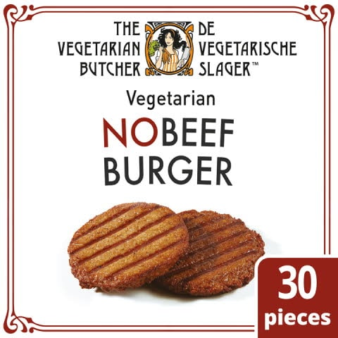 NOBEEF Burger 30x80g The Vegetarian Butcher -