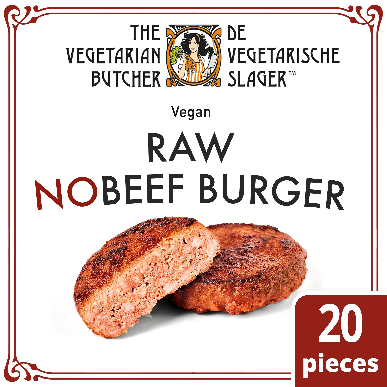 RAW NOBEEF Burger 113g x 20 (2,26kg) -