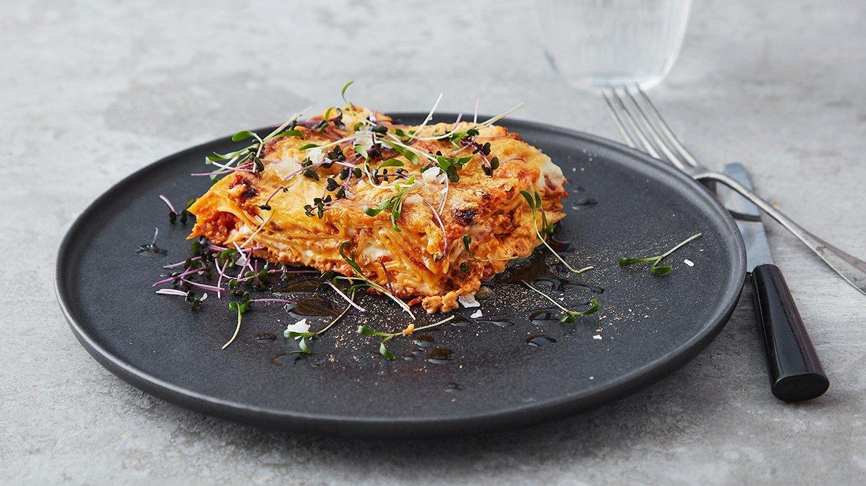 NoMince Lasagne – Oppskrift