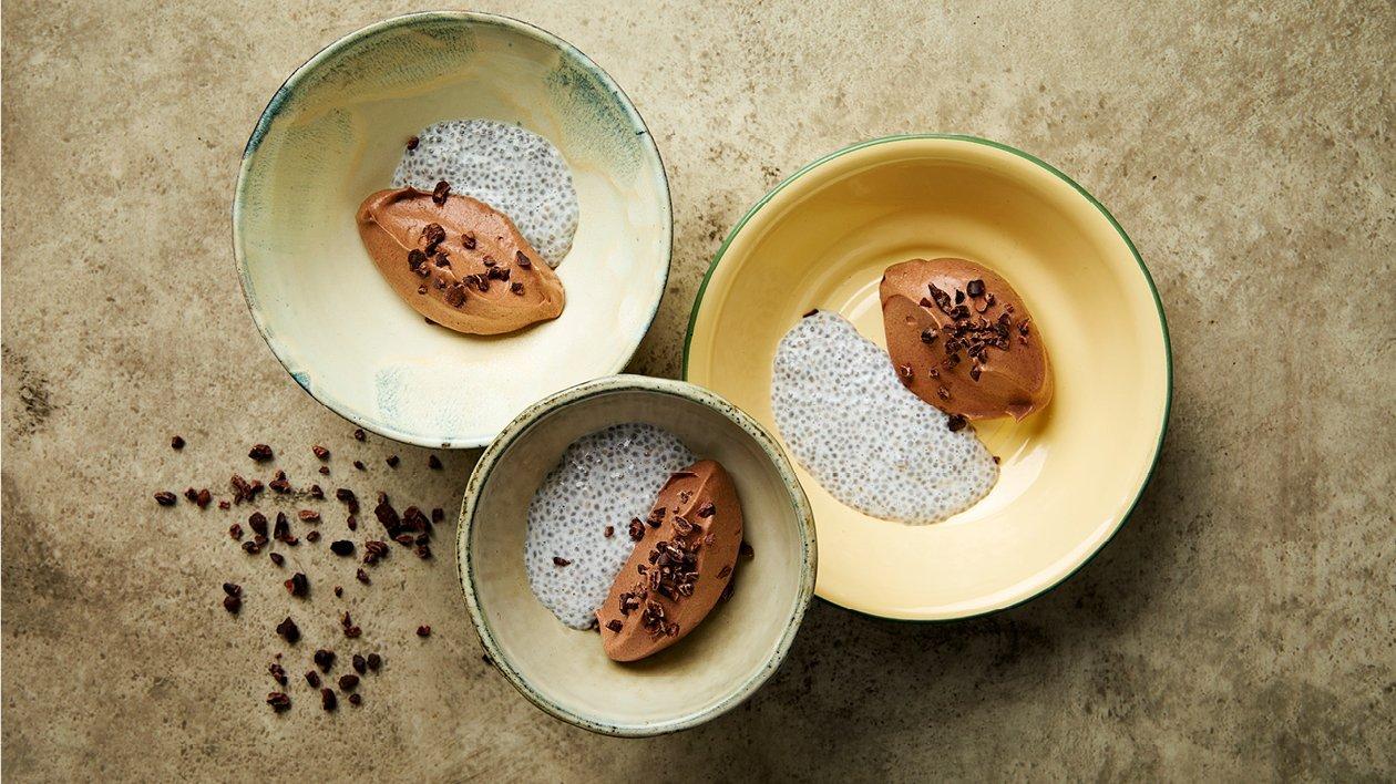 Chia sjokolademousse – Oppskrift