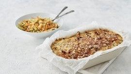 Blomkålgrateng med salvie og parmesan – Oppskrift