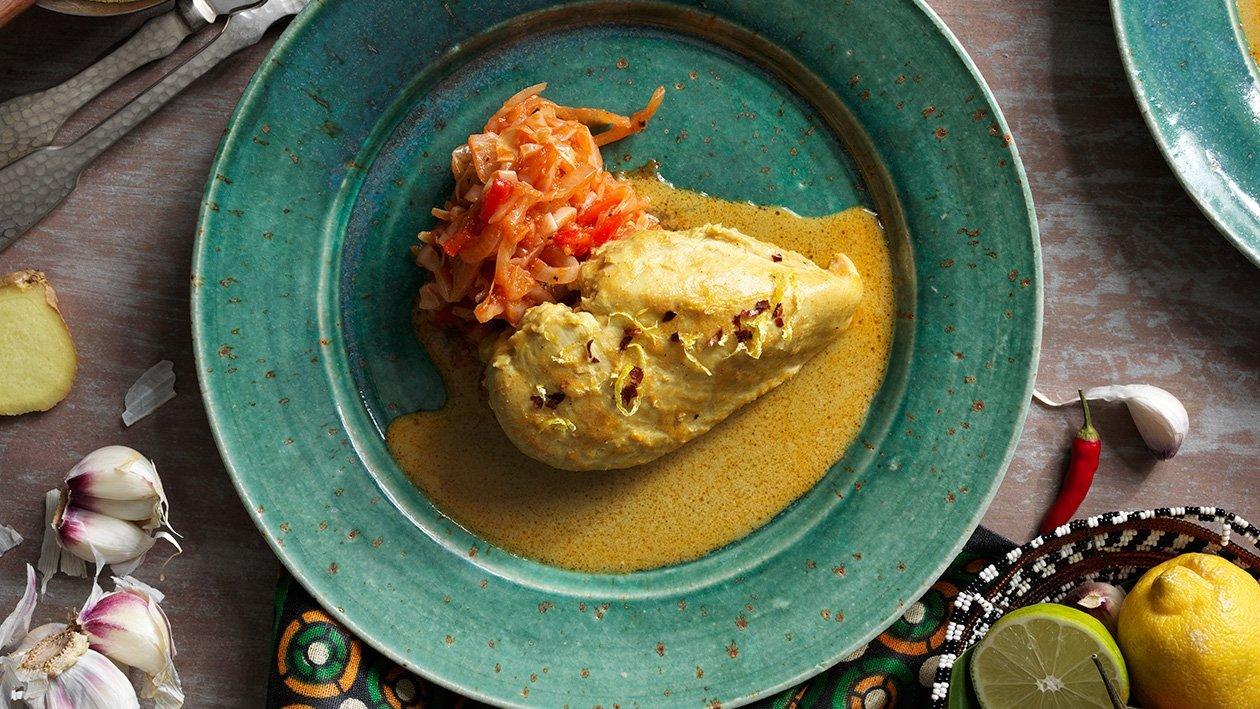 Kuku wa kupaka – kylling i kokosmelksaus – Oppskrift