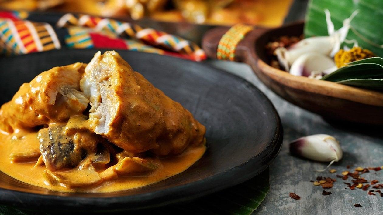 Mtuzi wa Samaki – fisk i kokoscurry  – Oppskrift