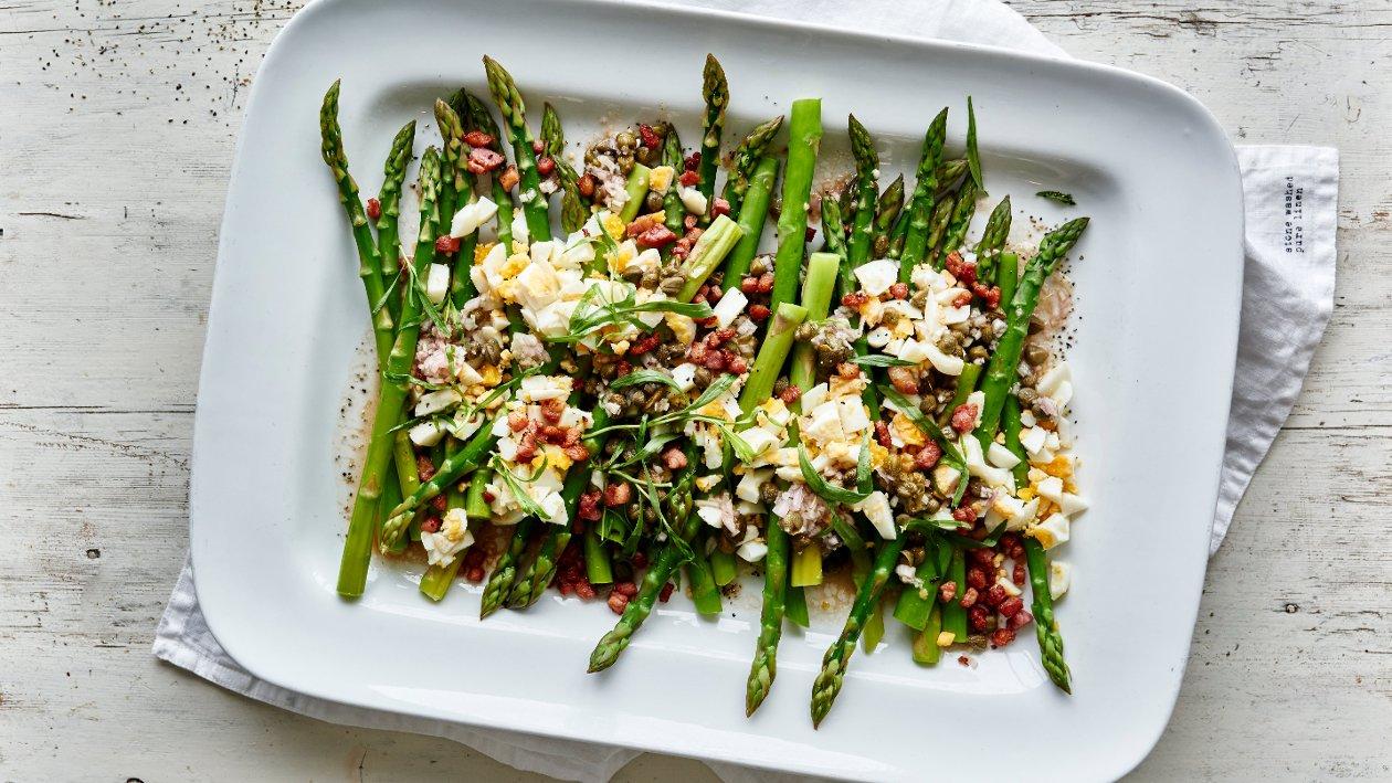 Grønn asparges med estragon – Oppskrift