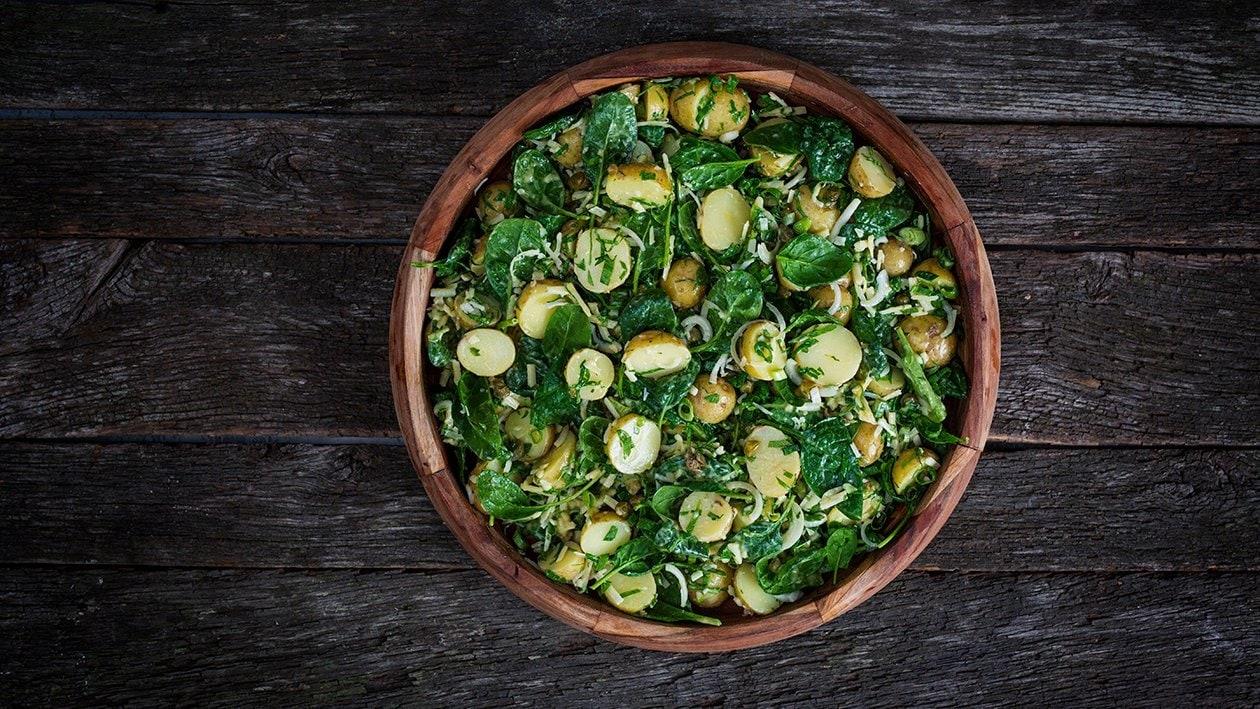 Potetsalat med dijondressing – Oppskrift
