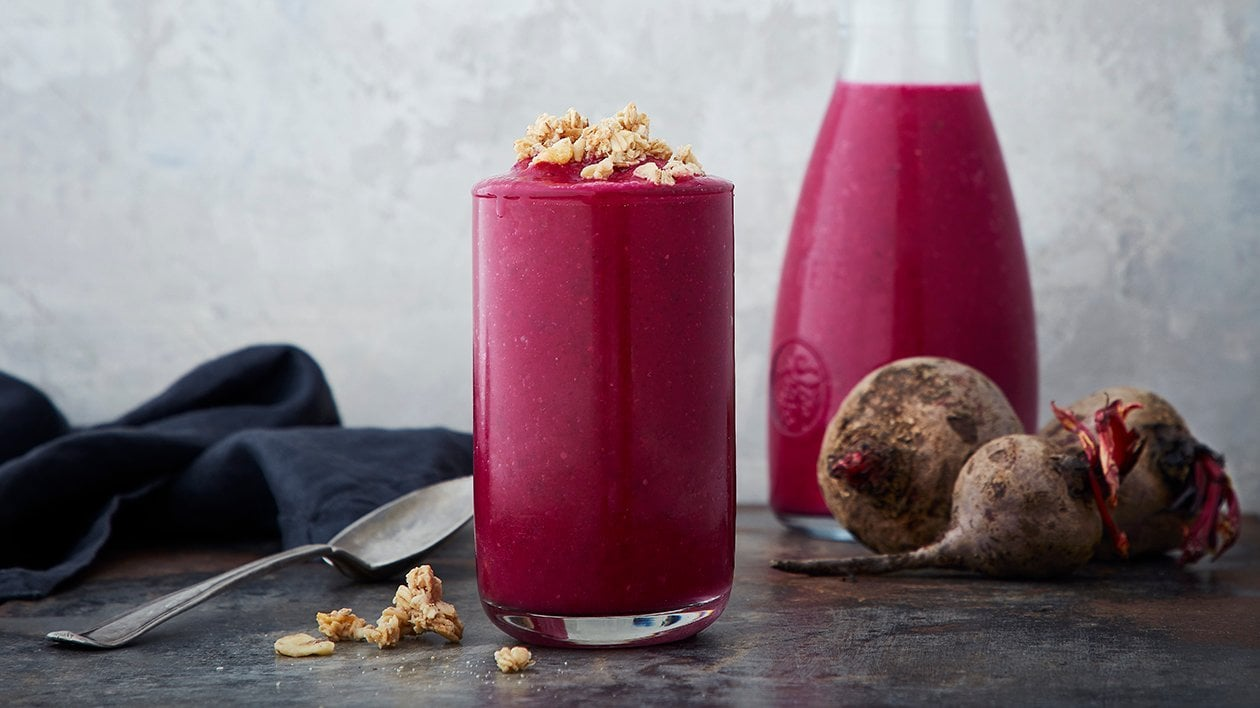 Rødbet- & jordbærsmoothie – Oppskrift